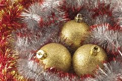 Christmas baubles. See more similar images in my portfolio Stock Photography