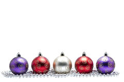 Christmas Baubles Royalty Free Stock Image