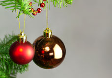 Christmas Baubles Royalty Free Stock Photos