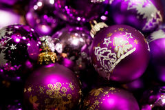 Christmas baubles. Royalty Free Stock Photos