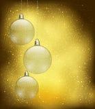 Christmas baubles Stock Photos