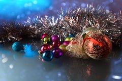 Christmas baubles . Stock Photos