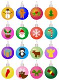 Christmas Baubles Royalty Free Stock Photo