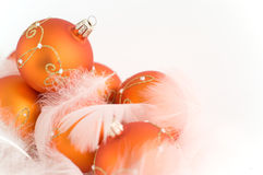 The christmas baubles Stock Images