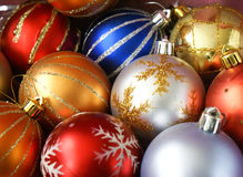 Free Christmas Baubles Royalty Free Stock Image - 3690386