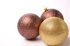 Christmas baubles Royalty Free Stock Photography