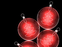 Christmas baubles. Christmas background for your design Royalty Free Stock Image