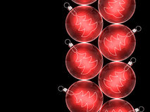 Christmas baubles. Christmas background for your design Royalty Free Stock Images