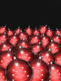 Christmas baubles. Christmas background for your design Royalty Free Stock Photos