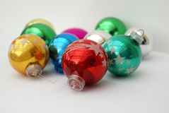 Christmas baubles. Christmas balls. decoration Stock Images