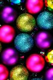 Christmas baubles. Royalty Free Stock Image