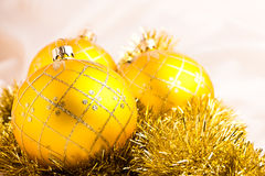 Christmas baubles decoration Royalty Free Stock Image