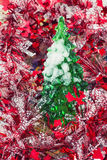 Christmas baubles and decorations Stock Photography