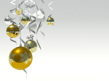 Christmas baubles. Stock Photos