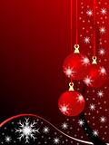 Christmas Baubles Illustration Royalty Free Stock Image