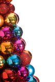 Christmas Baubles Isolated Stock Photography