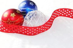 Christmas baubles ornament Stock Photo