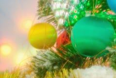 Christmas Baubles-  winter season Royalty Free Stock Photos