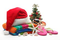 Christmas at the beach Stock Photography