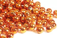 christmas bead close up Royalty Free Stock Images
