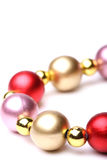 Christmas beads Royalty Free Stock Image