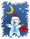 Christmas bear Royalty Free Stock Image