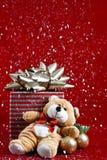 Christmas Bear Royalty Free Stock Photography
