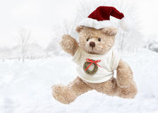 Christmas bear Royalty Free Stock Images