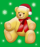 Christmas Bear Stock Images
