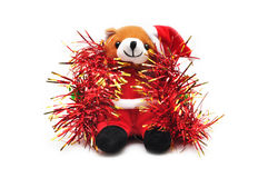 Christmas bear Stock Photography
