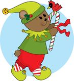 Christmas Bear Stock Image