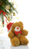 Christmas bear Stock Images
