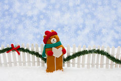 Christmas Bear Royalty Free Stock Photos