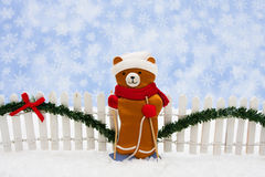 Christmas Bear Royalty Free Stock Image