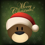 Christmas Bear Royalty Free Stock Photo