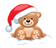 Christmas bear Stock Photos