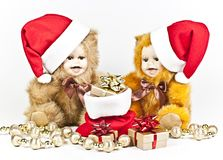 Christmas Bears. Stock Photography