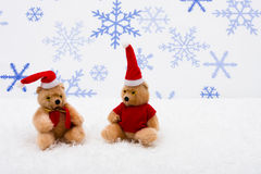 Christmas Bears Royalty Free Stock Photos