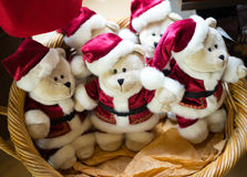 Christmas Bears Stock Photo