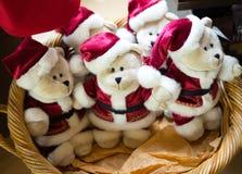 Christmas Bears Stock Photo