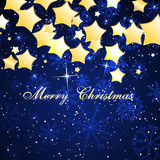 Christmas beautiful background. Vector Illustration Stock Photography