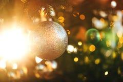 Christmas beautiful balls royalty free stock photo