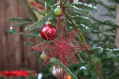 Beautiful Christmas and New Years scene. Christmas / Beautiful Christmas and New Years scene Royalty Free Stock Image