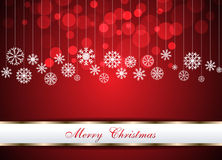 Christmas beautiful red background. Clip-art vector illustration