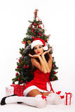 Christmas Beauty Stock Photos
