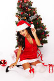 Christmas Beauty Stock Image