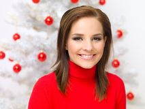 Christmas Beauty Stock Photo