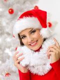 Christmas Beauty Stock Photography