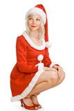Christmas beauty girl Royalty Free Stock Photography