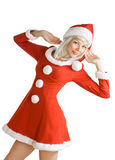 Christmas beauty girl Royalty Free Stock Photos
